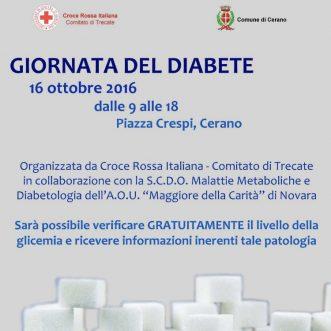 Giornata del Diabete a Cerano (NO)